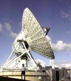 Cable and Wireless Sat dish
