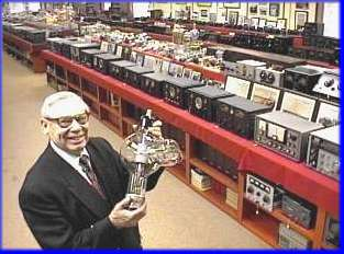 Fred Hammond  VE3HC and his Museum of radio