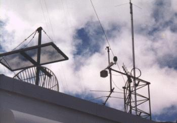 The outdoor weather instruments